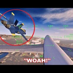 747 Pilot Can't Figure Out Autopilot & CRASHES (Flight Sim X Multiplayer)