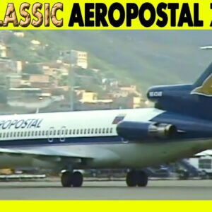 AEROPOSTAL 727-200 Caracas to Aruba to Santo Domingo (2001)