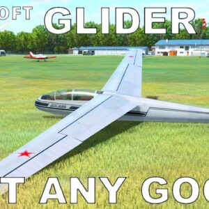 Aerosoft Glider Simulator   Full Review   World of Aircraft Series