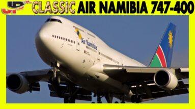 AIR NAMIBIA 747-400 Windhoek to London Heathrow (1999)