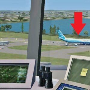 Air Traffic Con-TROLLING in Flight Simulator X (Boston Int'l Airport)