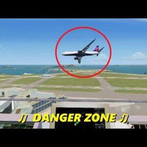 "ATC Sings ""Danger Zone"" in Flight Simulator X (Multiplayer Trolling)"