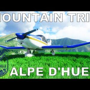 Bank Angle Studios Alpe D'Huez Airport | Microsoft Flight Simulator 2020
