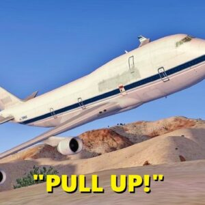 Boeing 747 CRASHES in the Desert (Multiple Times) - FSX Multiplayer Chaos