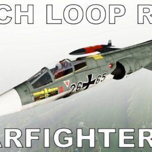 Mach Loop Time Trial | P3D V5 | #7 Lockheed F104G Starfighter (Sim Skunk Works)