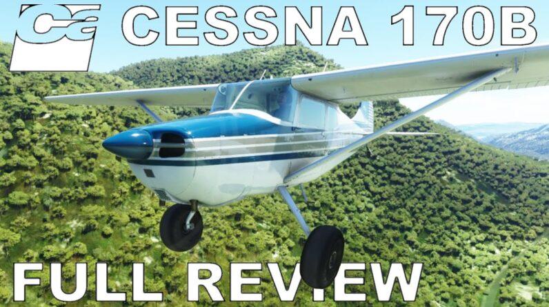 Carenado Cessna 170B | Full Review | Full Flight | Microsoft Flight Simulator 2020