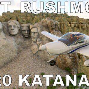 Beautiful Mount Rushmore Tour   Diamond DV20 Katana   Full Flight   Microsoft Flight Simulator 2020