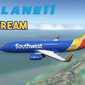Flight Simulator - X-Plane 11 - Boeing 737 KMIA KEYW Test Stream