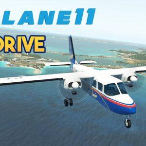 Flight Simulator - X-Plane 11 - TorqueSim BN-2 Islander Test Drive