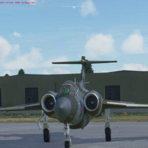 Flying the RAF Bucanneer in FS2020