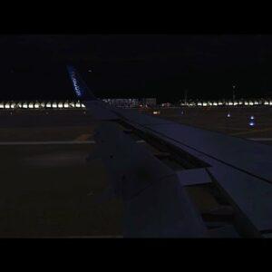 [FSX] Flydubai Night Landing at Dubai/DXB