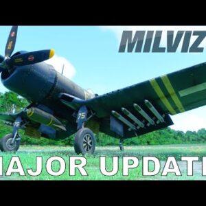 MILVIZ FG-1D Corsair | Weapons + More! | Major Update | Microsoft Flight Simulator 2020