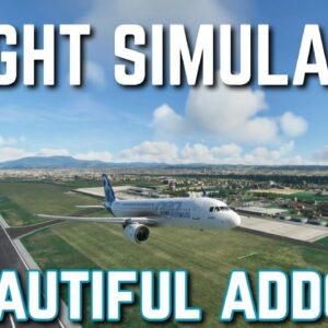 STUNNING Addon For Microsoft Flight Simulator | ORBX FS2020 Graz Airport Review