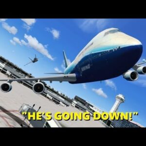 Guy Pretends to be Air Force One in Flight Simulator X (and Crashes)