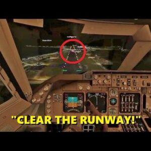 """I'M AIR FORCE ONE!"" - Trolling in Flight Sim X (Night Mission CHAOS)"