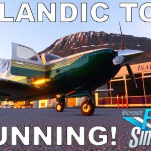 Orbx Iceland - Stunning Scenery! | Skytitude Thorshofn | Full Flight | Microsoft Flight Simulator
