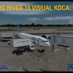 [P3Dv3.4] EPIC RIVER 19 VISIUAL KDCA | Fort Lauderdale (KFLL) - Reagen National (KDCA) | JETBLUE