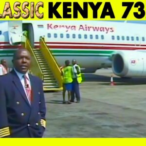 KENYA AIRWAYS 737 300 Nairobi to Entebbe (2002)