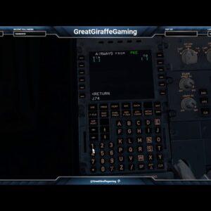 KLAX-KATL full flight part one