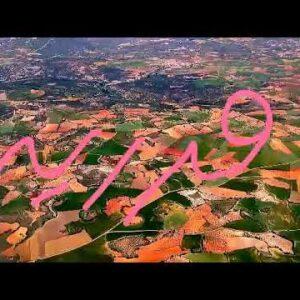 Landing at Madrid, Spain. B737-800, Wonderful landscape, May 2021.