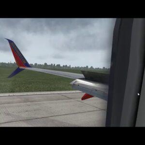 Landing in Panama beach