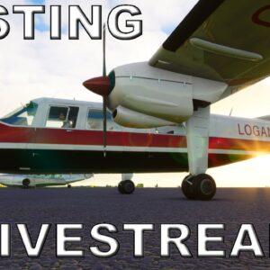 Black Box Simulations BN Islander | Livestream *TESTING* | Microsoft Flight Simulator (MSFS)
