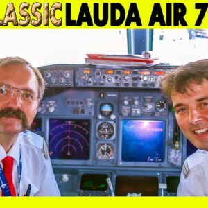 LAUDA AIR Boeing 737-800 Vienna to Santorini (2008)