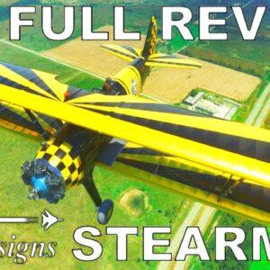 DC Designs / Just Flight PT17 Stearman | Full Review Flight | Microsoft Flight Simulator 2020
