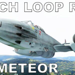 Mach Loop Time Trial | P3D V5 | #8 Gloster Meteor (Just Flight)