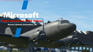 Microsoft Flight Simulator 2020 - Bicester Airfield UK -  Custom Scenery