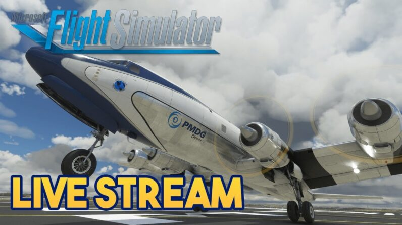 Microsoft Flight Simulator 2020 - DC-6  IN THE MIDDLE EAST