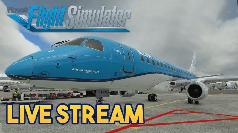 Microsoft Flight Simulator 2020 - EMBRAER  175 TEST FLIGHT