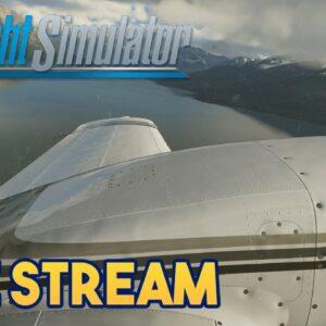 Microsoft Flight Simulator 2020  -  FLYING IN AN EPIC LOCATION