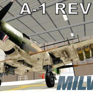 MILVIZ A-1H Skyraider | Full Review | Prepar3d P3D V5