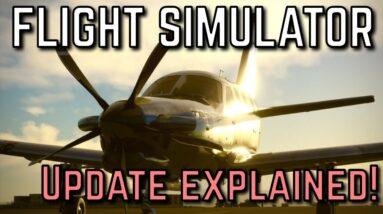 NEW Microsoft Flight Simulator UPDATE   Bug Fixes, Navblue & More!