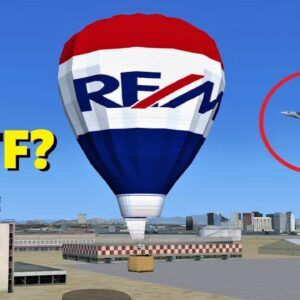"""Trolling a """"MILITARY AIRCRAFT ONLY"""" Session - Flight Simulator X (Multiplayer)"""
