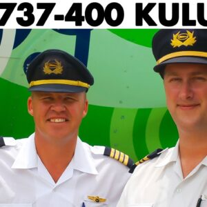 Piloting the KULULA Boeing 737-400 across South Africa (2008)