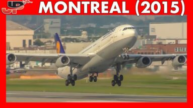 Plane Spotting at MONTREAL AIRPORT (2015)