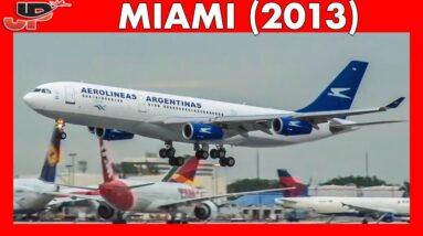 Plane Spotting Memories from MIAMI INTERNATIONAL (2013)