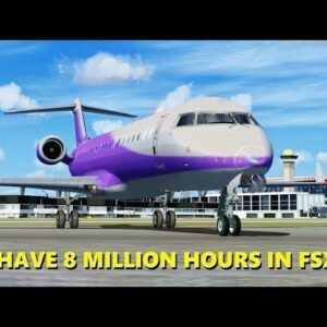 """Pretending to Join a """"VIRTUAL AIRLINE"""" in Flight Simulator X (Multiplayer)"""