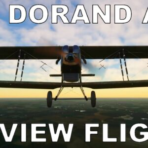 Real Physics Dorand AR1 A2 200 | Full Review Flight | Microsoft Flight Simulator 2020