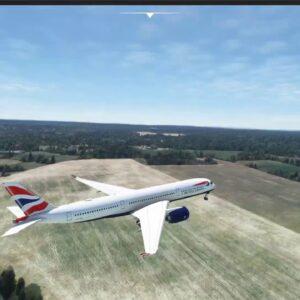 Sim Update 5 quick test over London