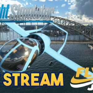 Microsoft Flight Simulator 2020 -  ORBX FLY JULY LANDMARK CITY FLY IN & GIVEAWAY