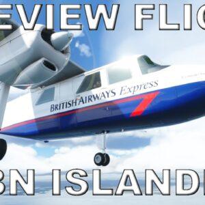 Black Box Simulations Britten Norman Islander | Full Review Flight | Microsoft Flight Simulator 2020