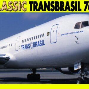 TRANSBRASIL 767-300ER Washington to New York JFK (1997)