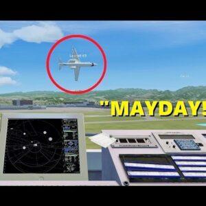 TROLLING as an Air Traffic Controller (PART 2) - Flight Sim X Multiplayer!
