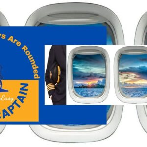 Why are Plane Windows rounded not Square? Ask the Captain Episode 001