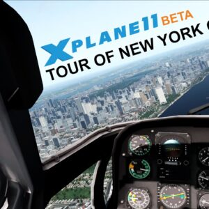 X-Plane 11 Beta | Helicopter Tour of New York City