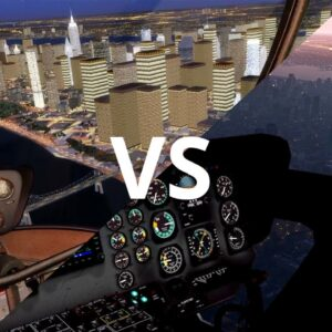 X-Plane 11 Default Night Scenery vs. Prepar3D v4 w/ Add-ons