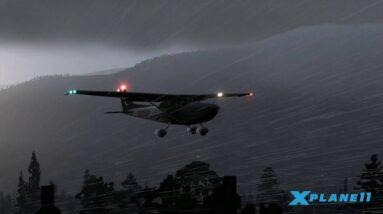 X-Plane 11 - Lighting, Reflection and Fog